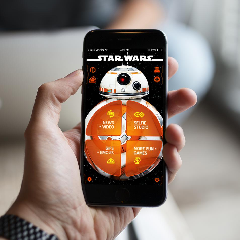 Star Wars Mobile App Design