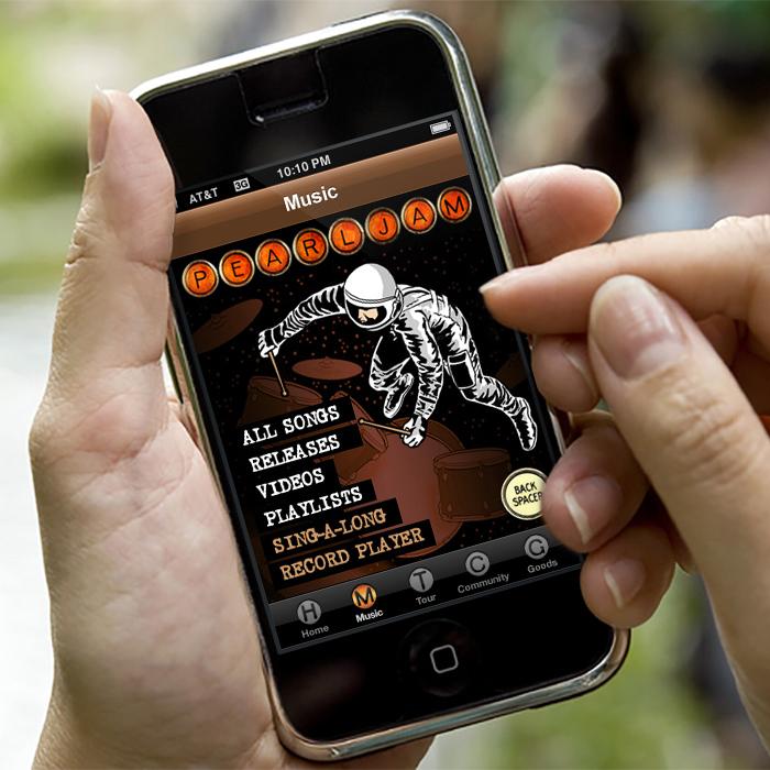 Pearl Jam iPhone App