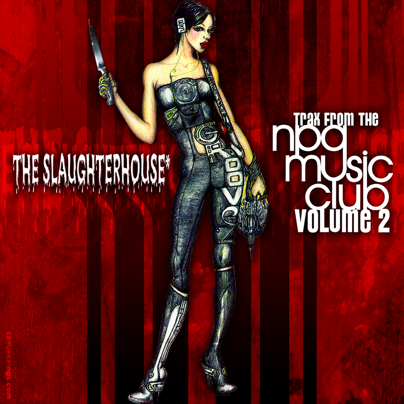 Prince The Slaughterhouse CD package design