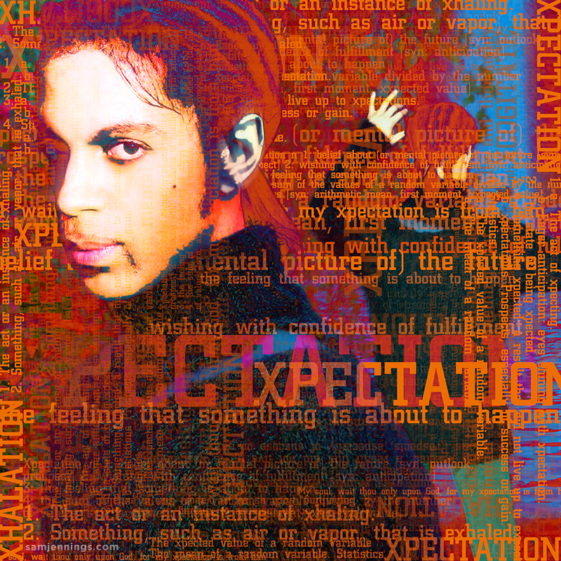 Prince Xpectation CD package design