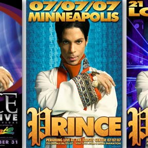 Prince 2007 posters