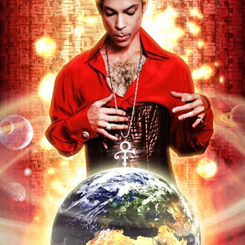 Prince Planet Earth CD cover