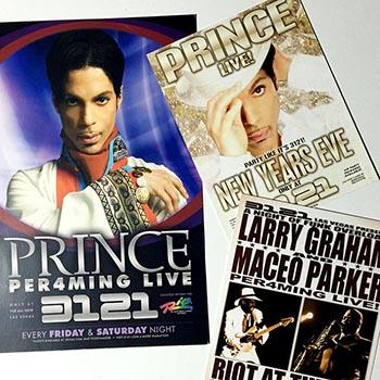 Prince 3121 Las Vegas posters